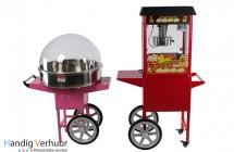 Suikerspinverhuur / popcornmachine huren