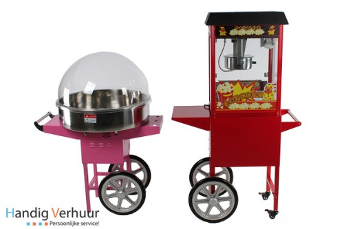 Fun Food (suikerspin & popcorn)