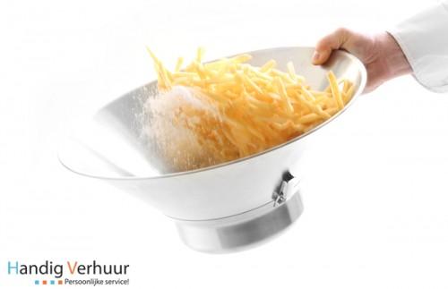 Frituurvergiet + Zoutstrooier