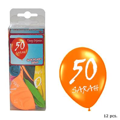 Sarah of Abraham ballonnen