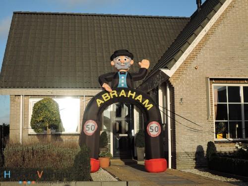 '50 jaar' Abraham boog
