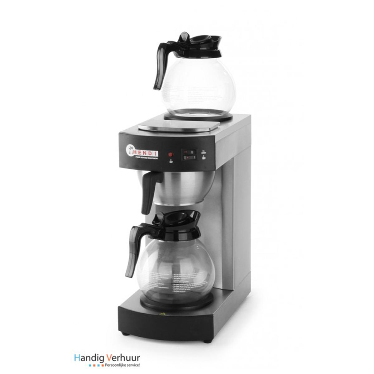 Koffiezetapparaat met 2 potten