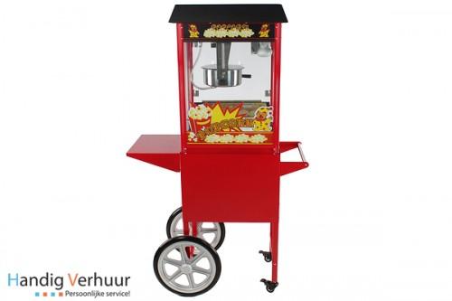 Combinatiepakket popcorn en suikerspinmachine