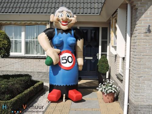 '50 jaar' Opblaaspop Sarah 1.0