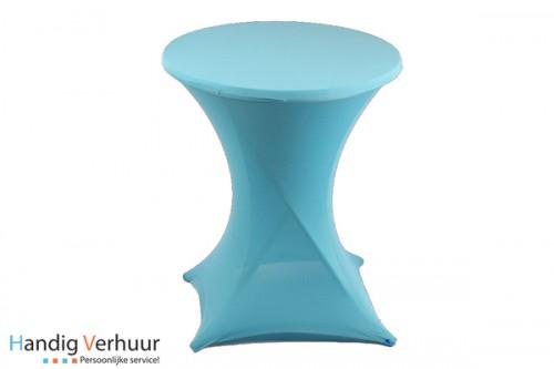 Statafel + rok blauw (ook donkerblauw)