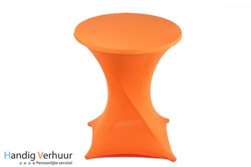 Statafel + rok oranje