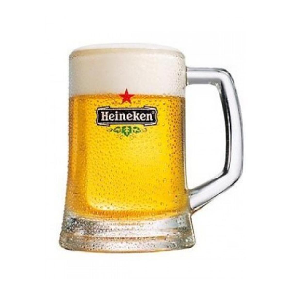 Heineken bierpullen