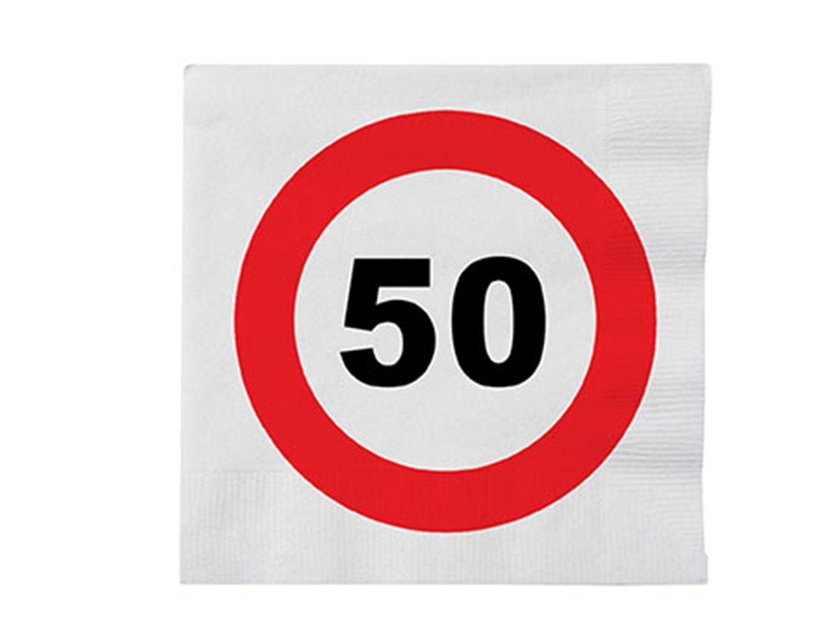 Servetten '50 jaar'