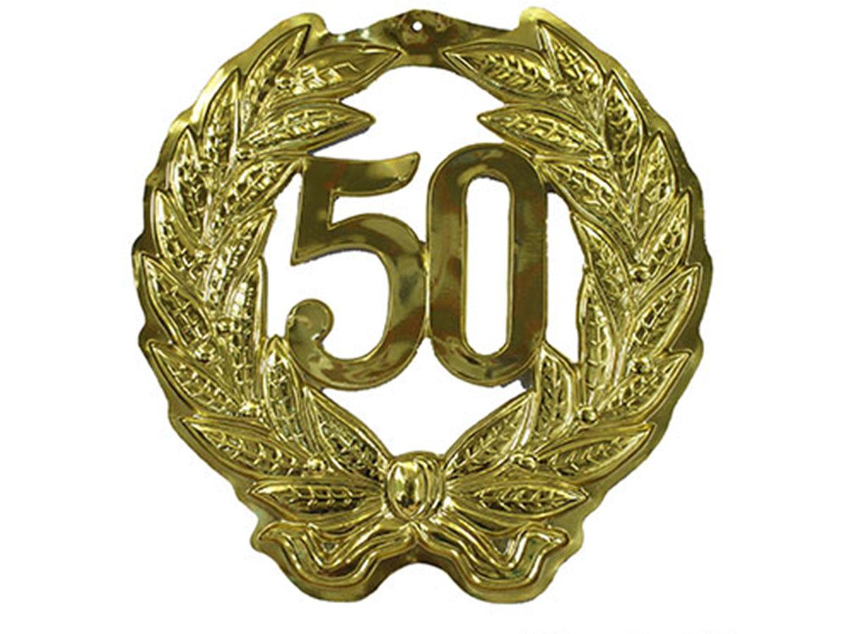 Muurplakkaat '50 jaar'